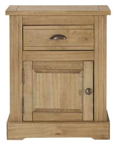 Falkirk Bedroom 1 Door/ Drawer Bedside Cabinet